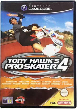 Tony Hawk's Pro Skater 4 Game Cube