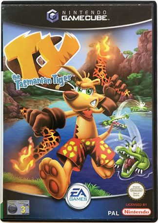 Ty The Tasmanian Tiger Game Cube