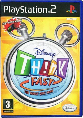 Disney TH!NK Fast PS2