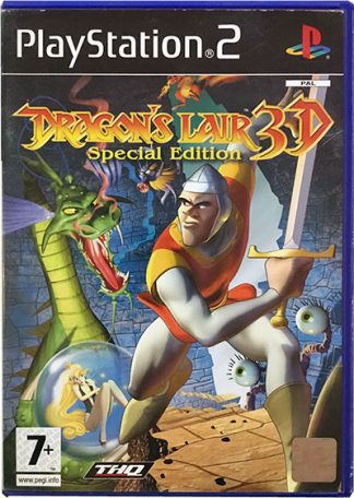 Dragon's Lair 3D Special Edition PS2