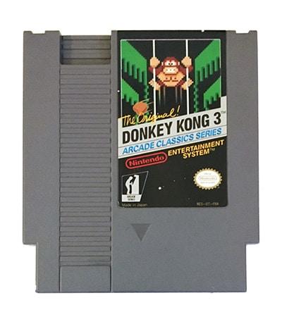 Donkey Kong 3 (NES-DT-FRA)