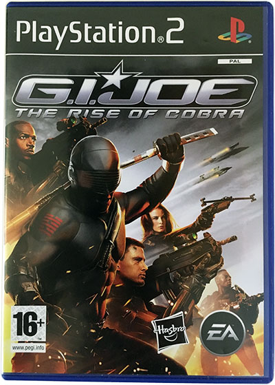 G.I. JOE The Rise of Cobra PS2