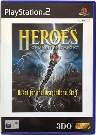 Heroes of Might and Magic Quest for the DragonBone Staff PS2