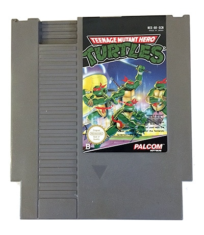 Teenage Mutant Hero Turtles (NES-88-SCN)