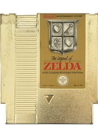 The Legend Of Zelda (NES-ZL-NOE)
