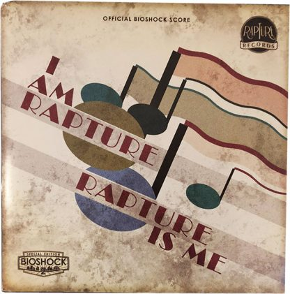 I Am Rapture, Rapture Is Me (Bioshock 2 Soundtrack limited Edition) LP forside