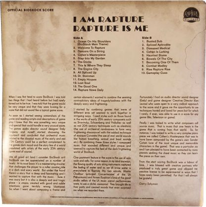 I Am Rapture Rapture Is Me LP (bagside)