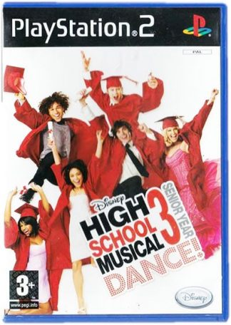 Disney High School Musical 3 Senior Year DANCE PS2