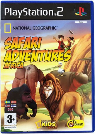 National Geographic Safari Adventures Africa PS2