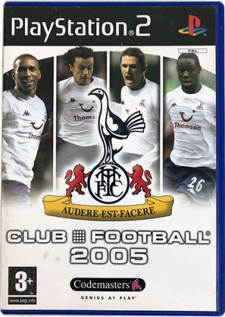 Tottenham Hotspur Club Football 2005 PS2