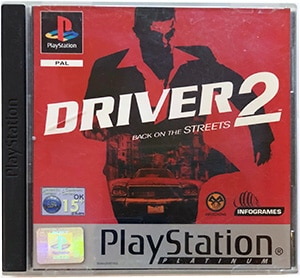 Driver 2 (platinum) PS1