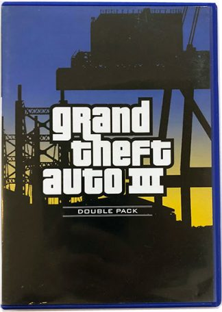 Grand Theft Auto III PS2 (double pack)