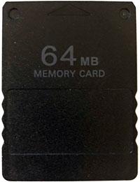 64MB Memory Card PS2