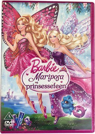 Barbie Mariposa og Prinsessefeen DVD