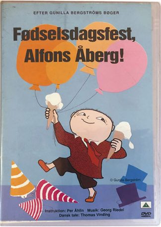 Fødselsdagsfest, Alfons Åberg DVD