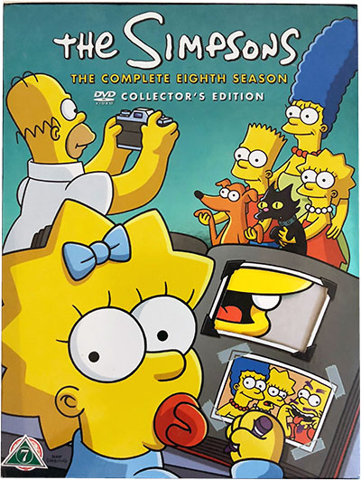 The Simpsons The Complete Eighth Season DVD