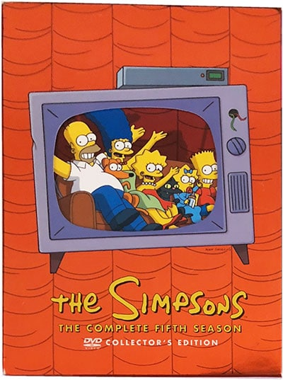 The Simpsons The Complete Fifth Season DVD