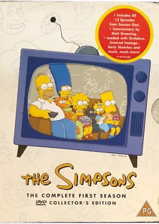 The Simpsons The Complete First Season DVD