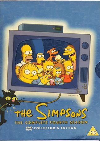 The Simpsons The Complete Fourth Season DVD