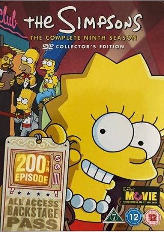 The Simpsons The Complete Ninth Season DVD