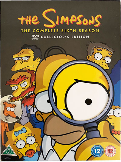 The Simpsons The Complete Sixth Season DVD