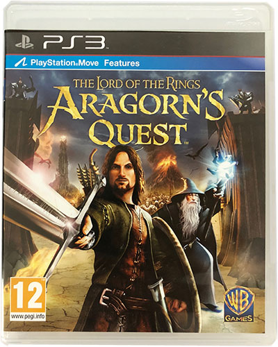 The Lord of The Rings Aragorn's Quest PS3