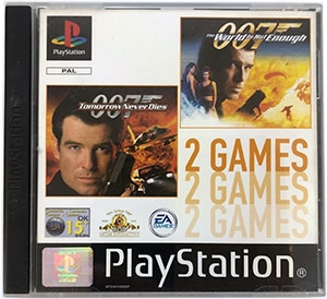 007 Tomorrow Never Dies + The World is Not Enough PS1