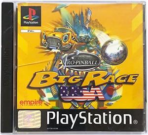 Pro Pinball Big Race USA PS1