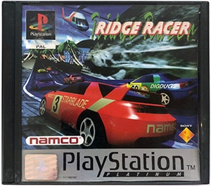 Ridge Racer (platinum) PS1