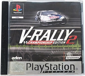 V-Rally 2 (platinum) PS1