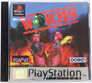 Worms (platinum) PS1