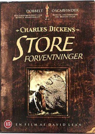 Charles Dickens Store Forventninger DVD