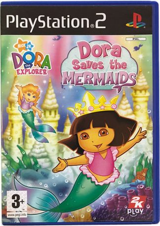 Dora Saves The Mermaids PS2