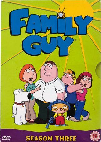 Family Guy Sæson 3 (engelsk) DVD