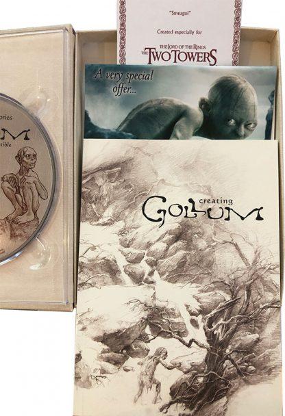 """Gollum - """"Sméagol"""" Collectible DVD indhold"""