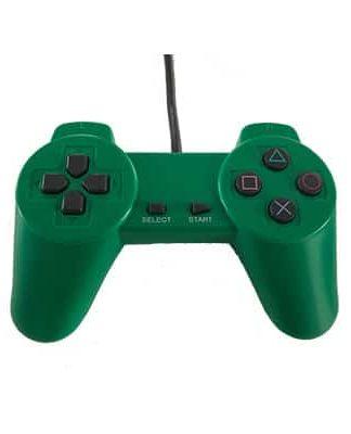 PlayStation Controller i grøn til PS1 og PS2