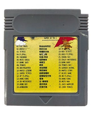Super 32 In 1 Game Boy