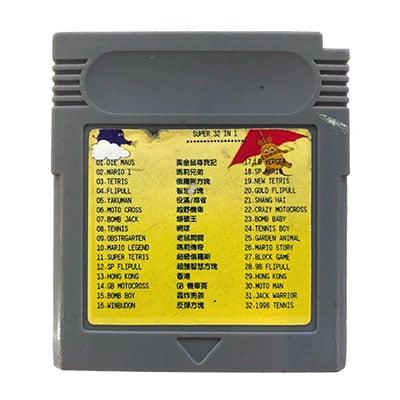 Super 32 In 1 Game Boy