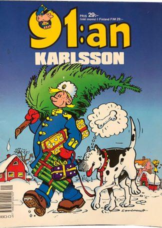 91 an Karlsson - Tegneserie