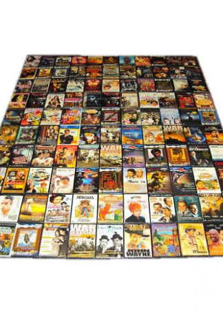 DVD lot med blandede film