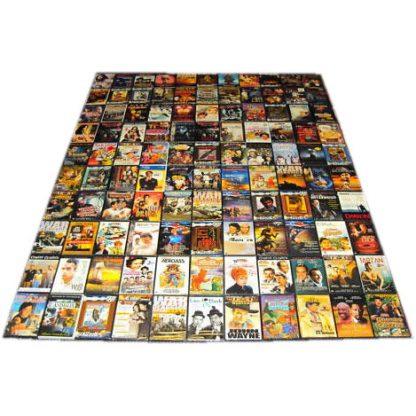 DVD lot med blandede film