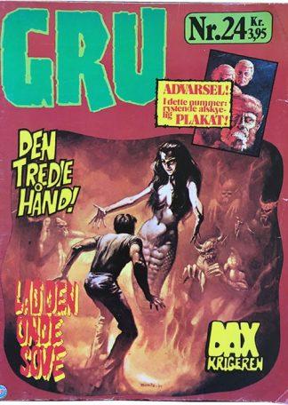 GRU 24 tegneserie blad