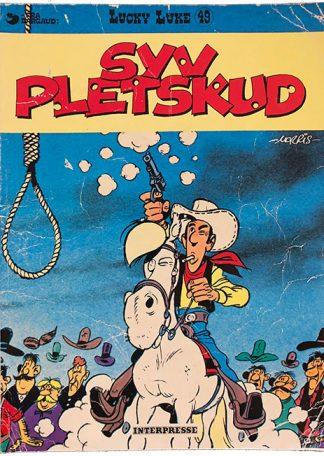Lucky Luke 49 - Syv Pletskud - Tegneserie