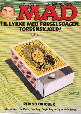 MAD 26 Tillykke Med Fødselsdagen, Tordenskjold!