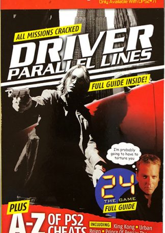 OPS2 Magazine Presents 71 - Driver Parallel Lines Plus 24 The Game - A-Z of PS2 Cheats