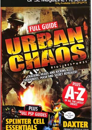 OPS2 Magazine Presents #73 - Urban Chaos Riot Response - Daxter - Splinter Cell Essentials Plus A-Z Of Cheats