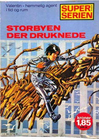 Valentin - Storbyen Der Druknede - Tegneserie album