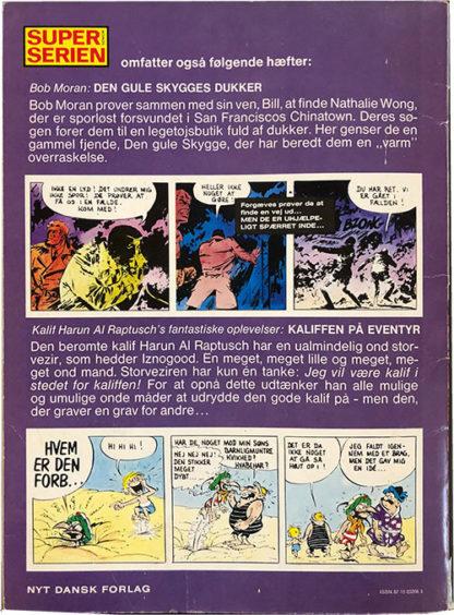 Valentin - Storbyen Der Druknede - Tegneserie albumj - bagside