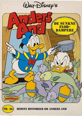 Bedste Historier Om Anders And Nr. 36 De Sunkne Floddampere