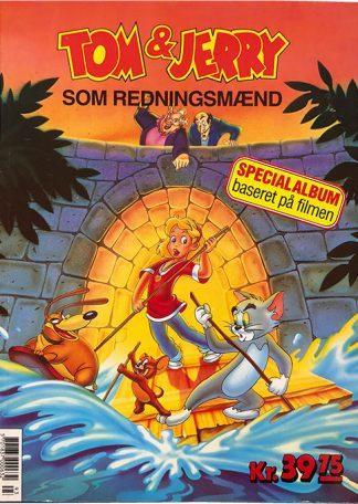 Tom & Jerry Som Redningsmænd - Tegneserie album